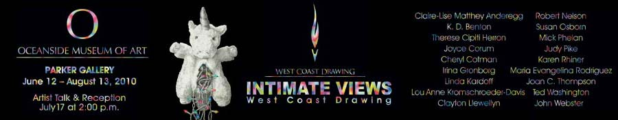 West Coast Drawing - Intimate Views
